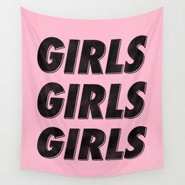 Girls Girls Girls I Wall Tapestry