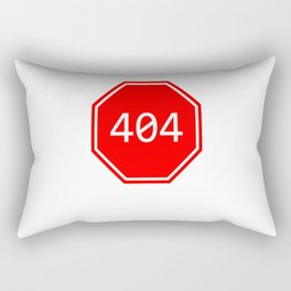 Homework Error Rectangular Pillow