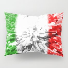 Extruded Flag of Italy Pillow Sham
