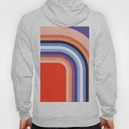 70s Stripes Rainbow 2 Hoody
