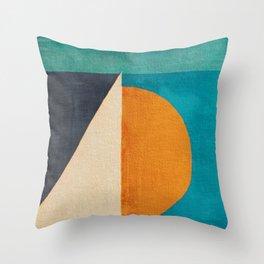 Regata al Tramonto Throw Pillow