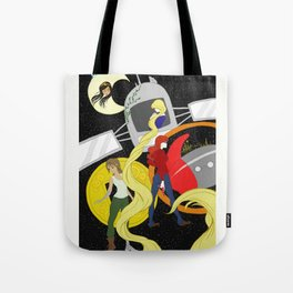 The Lunar Chronicles Tote Bag