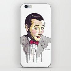 Pee Wee iPhone Skin