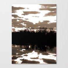 halloween sunrise Canvas Print