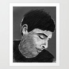Stanley B&W Art Print