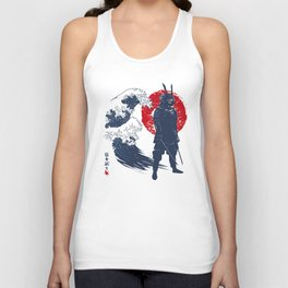 Wave Samurai Unisex Tank Top