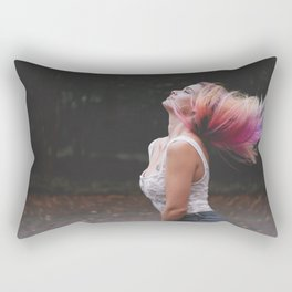 Enjoy Life #girl #adventure Rectangular Pillow