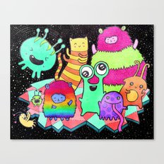 Intergalactic Dance Party Canvas Print