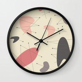 Pendan - Pink Wall Clock