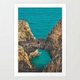 Ponta da Piedade, Algarve, Portugal IV Art Print