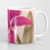 vintage floral Mugs featuring Vintage Floral by 83 Oranges™