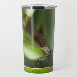 Baby Dragonfly - Insects Photography Travel Mug