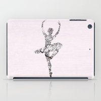 ballerina iPad Cases featuring Ballerina by Christophe Chiozzi