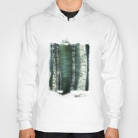 birch Hoodies featuring birch trees by hannes cmarits (hannes61)