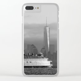 Ferry & Freedom Tower Clear iPhone Case
