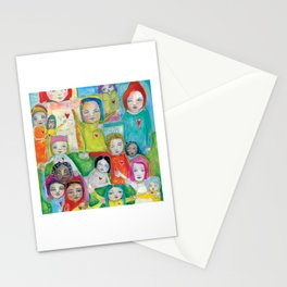 Heart Speak by kae pea Stationery Cards
