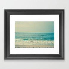 Blue H20 Framed Art Print