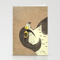 falcon Stationery Cards featuring Falcon by Lynette Sherrard Illustration and Design