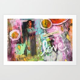 Bitter Sweet Love Art Print