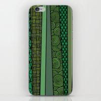 bamboo iPhone & iPod Skins featuring Bamboo by glorya