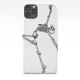 Ballet Skeleton iPhone Case