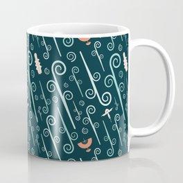 Avatar: The Last Airbender (Dark) Pattern Coffee Mug