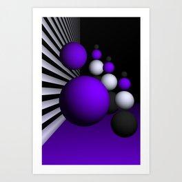 go violet -14- Art Print