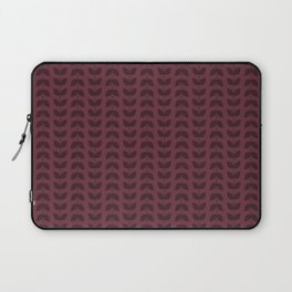 Tawny Port Leaves Laptop Sleeve