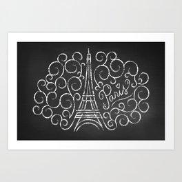 Paris Sketch Art Print
