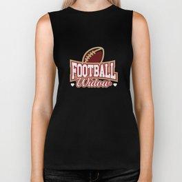 Football Widow Biker Tank