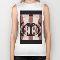 spaceman Biker Tanks featuring Spaceman by ACUN