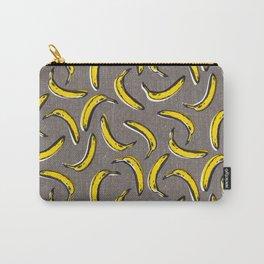 Pop Art Bananas - Gray Carry-All Pouch