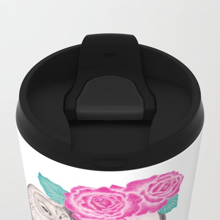 Blossomtime Metal Travel Mug