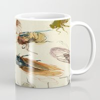 eye Mugs featuring summer cicadas by Teagan White