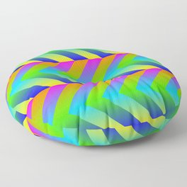 Colorful Gradients Floor Pillow