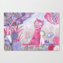 Tigre Canvas Print