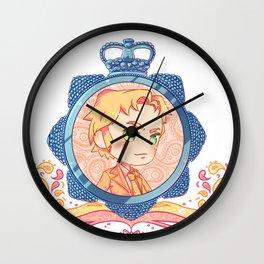 DCI Gene Fluffybutt Hunt Wall Clock