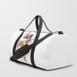Calligraphy Girl Duffle Bag