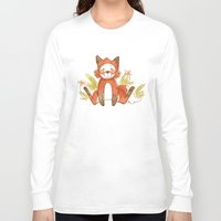 relax Long Sleeve T-shirts featuring Relax by Pencil Box Illustration