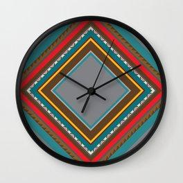 Incas' Culture Heritage Wall Clock