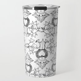 Tattoo design pattern Travel Mug