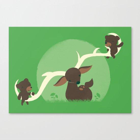 Teeter Totter Canvas Print