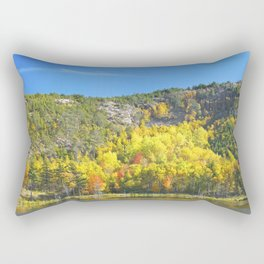 Fall On Beaver Dam Pond Acadia National Park Maine Rectangular Pillow