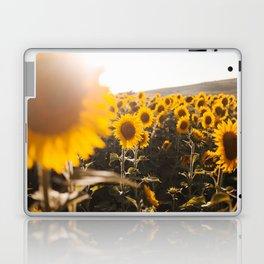 Sunflower's Season (III) Laptop & iPad Skin
