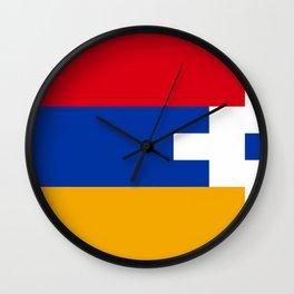 Nagorno-Karabakh Flag Wall Clock