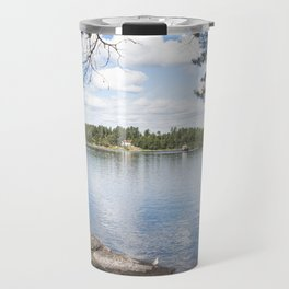 Utoya island norway near Oslo Travel Mug