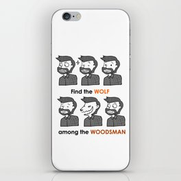 Mez The Woodsman iPhone Skin