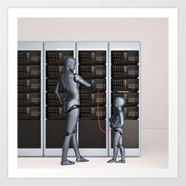 Petabytes Art Print