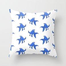 Patterned koi Throw Pillow