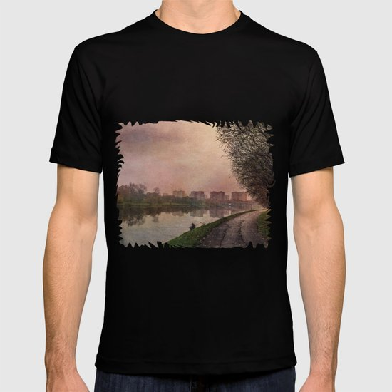 Fisherman (stylized watercolor) T-shirt